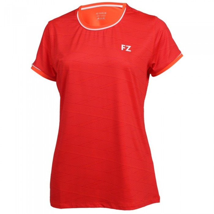 T Shirt FZ Forza Hayle Femme Rouge