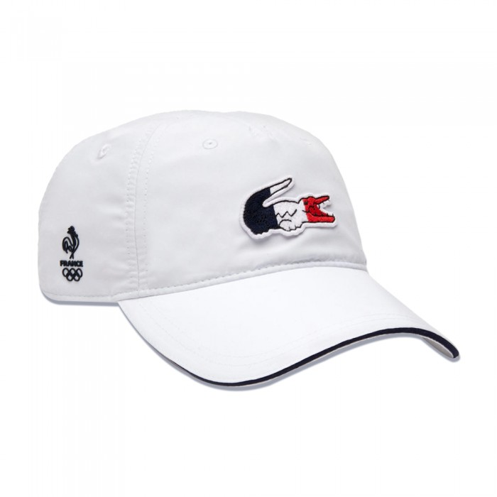 Casquette Lacoste France Olympique Blanche