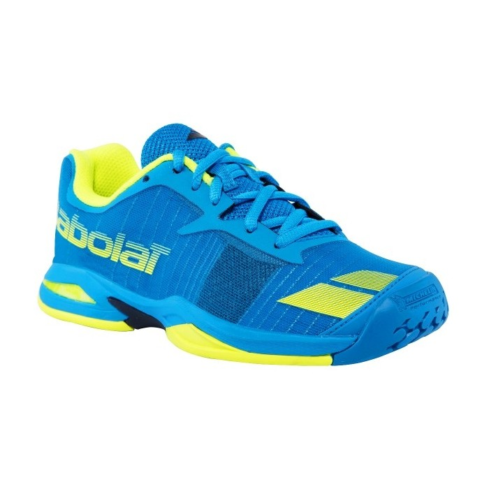 Chaussures de Tennis Babolat Jet All Court Junior Bleu/Jaune 2017
