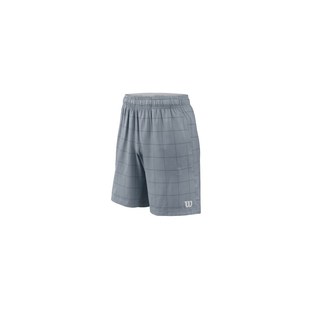 Short - Wilson - Star PlaidTrade - Gris