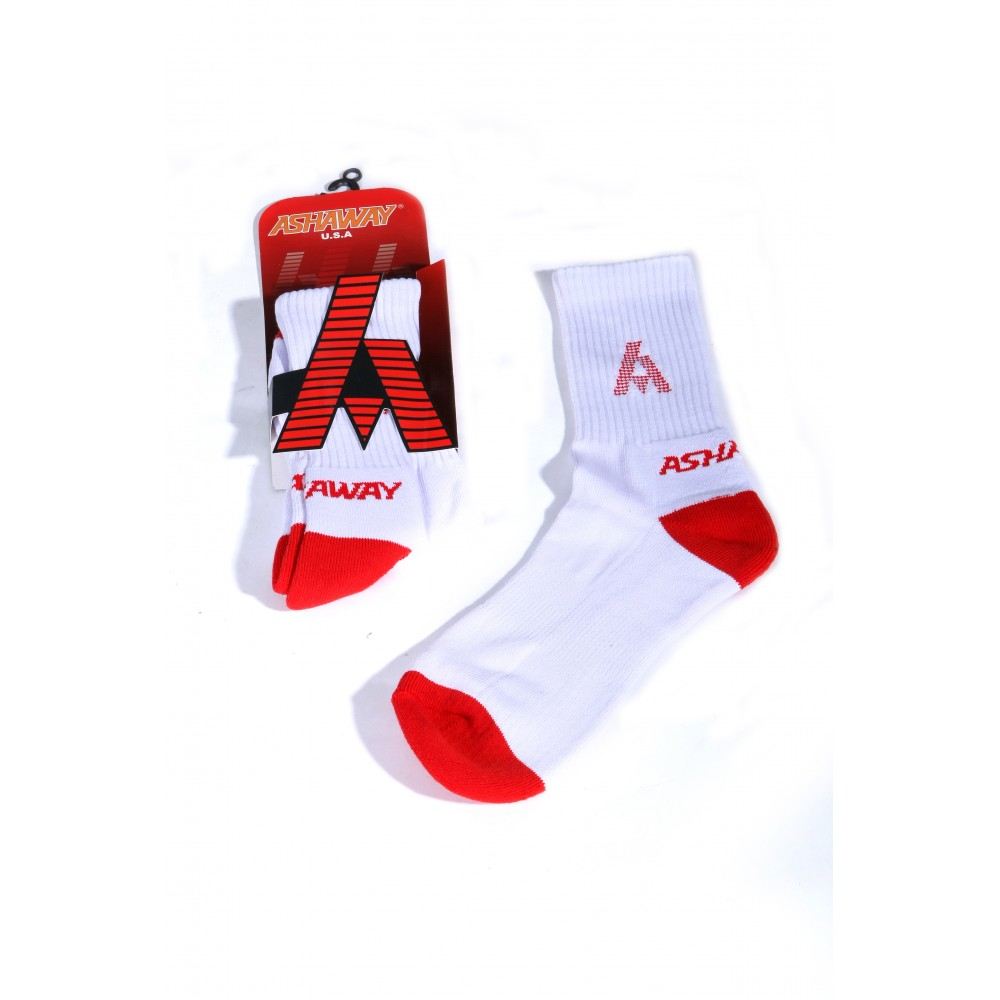 Chaussettes - Rouge/Blanches - Ashaway