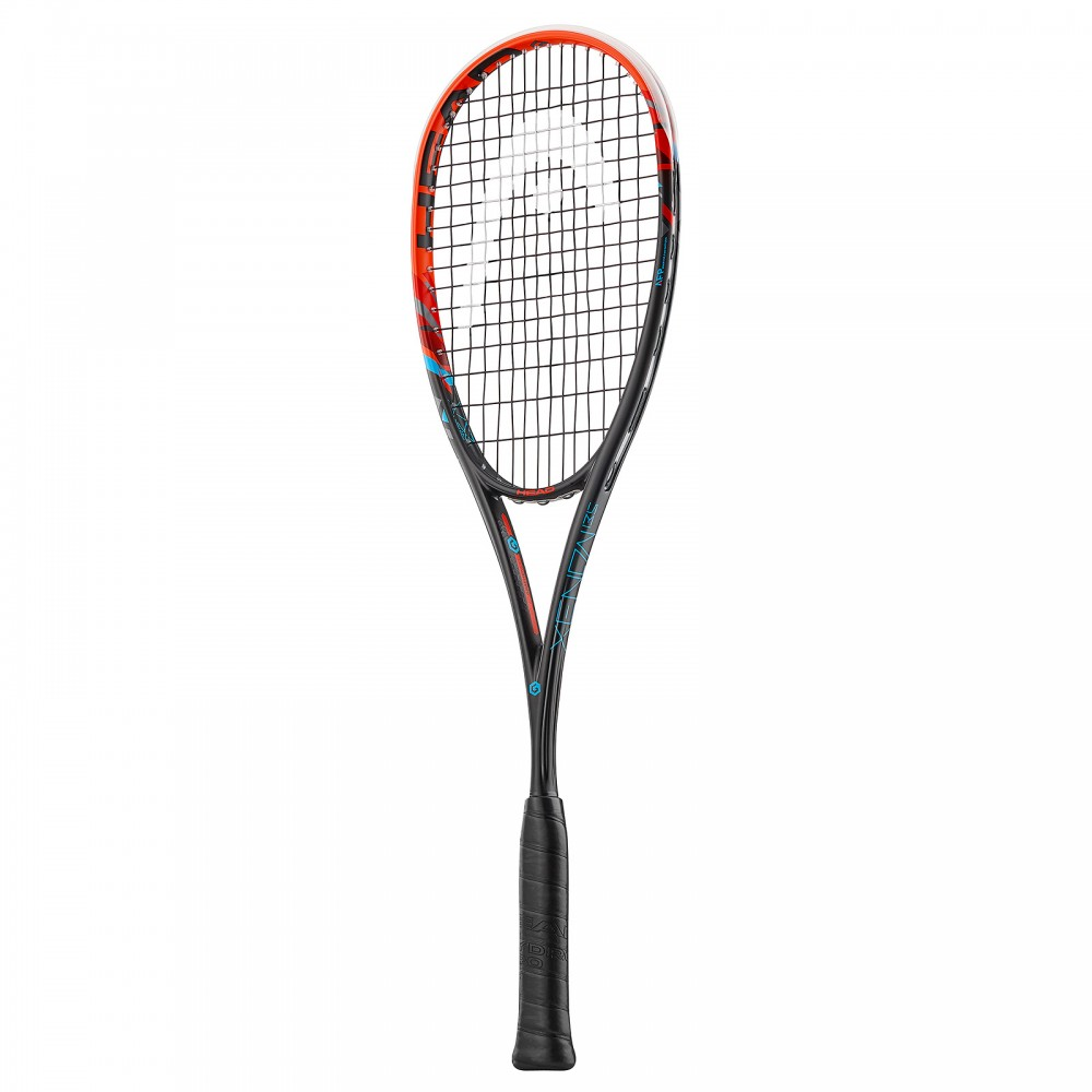 Raquette Squash Graphene XT Xenon 135 Head Orange Noir 2017