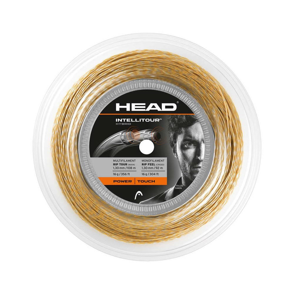 Bobine - Intellitour - Head - Cordage tennis - Ambre