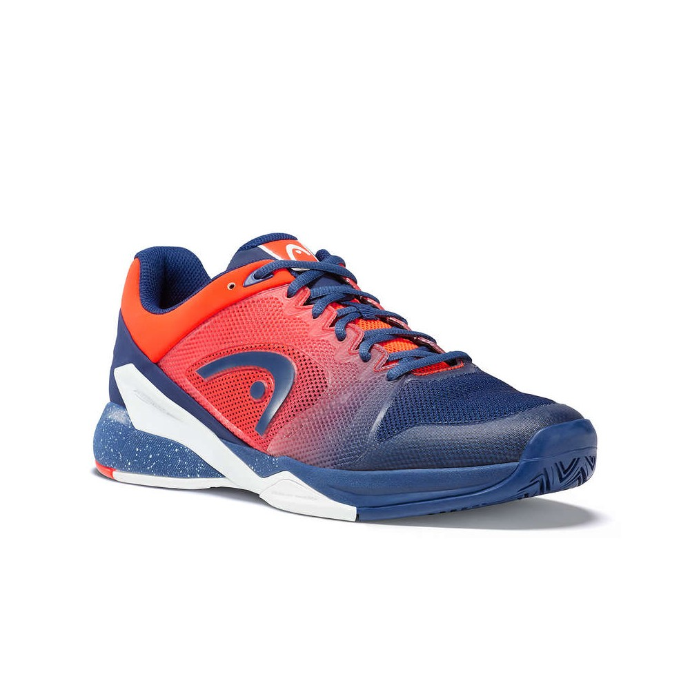 Revolt Pro 2.5 - Head - Chaussures Tennis - Homme - Orange/Bleu - 2018