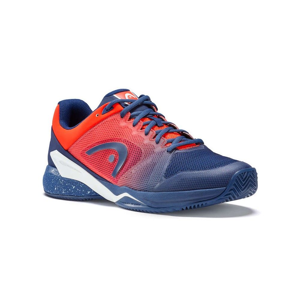 Revolt Pro 2.5 Clay Court - Head - Chaussures Tennis - Homme - Bleu/Orange - 2018