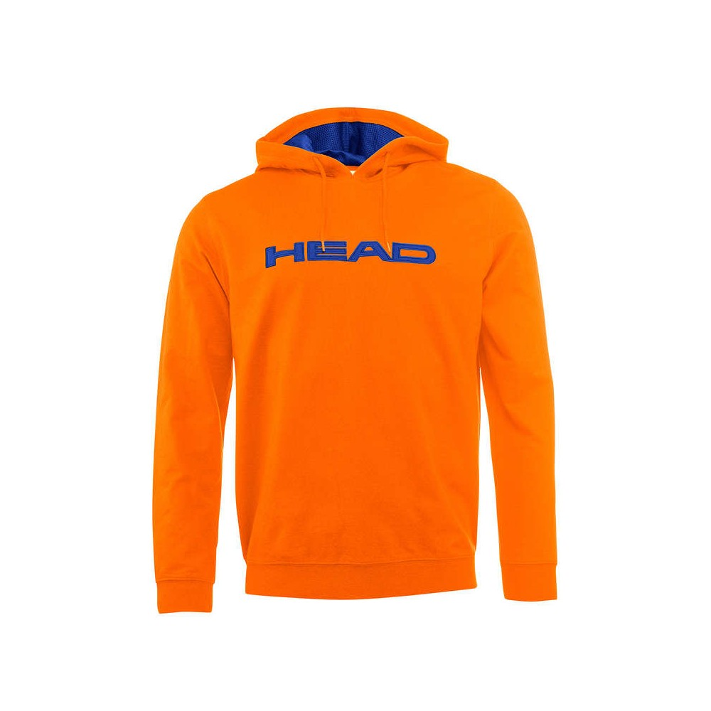 Sweat Head Byron Hoody Homme Orange 2018
