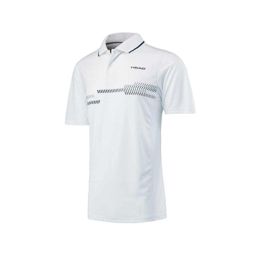 Polo Sport Head Club Homme Blanc 2018