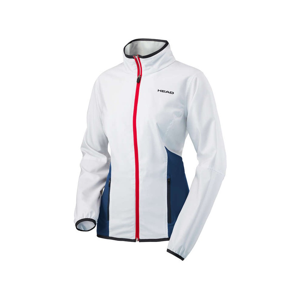 Veste Survetement Femme Blanc Head Club 2018