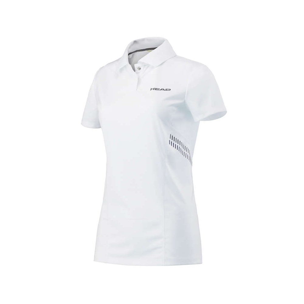 Polo Sport Femme Head Technical Blanc 2018