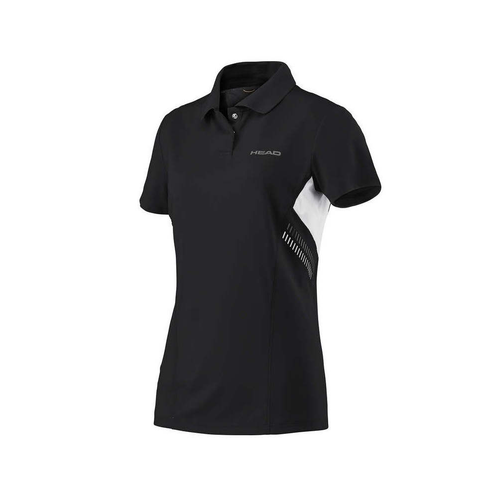 Polo Sport Femme Head Technical Noir 2018