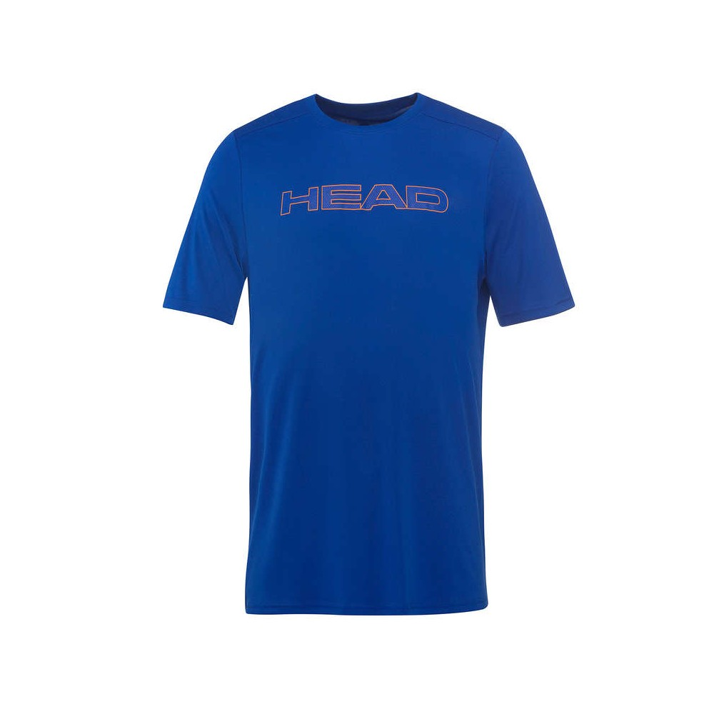 T-Shirt Sport Junior Head Basic Tech Bleu 2018