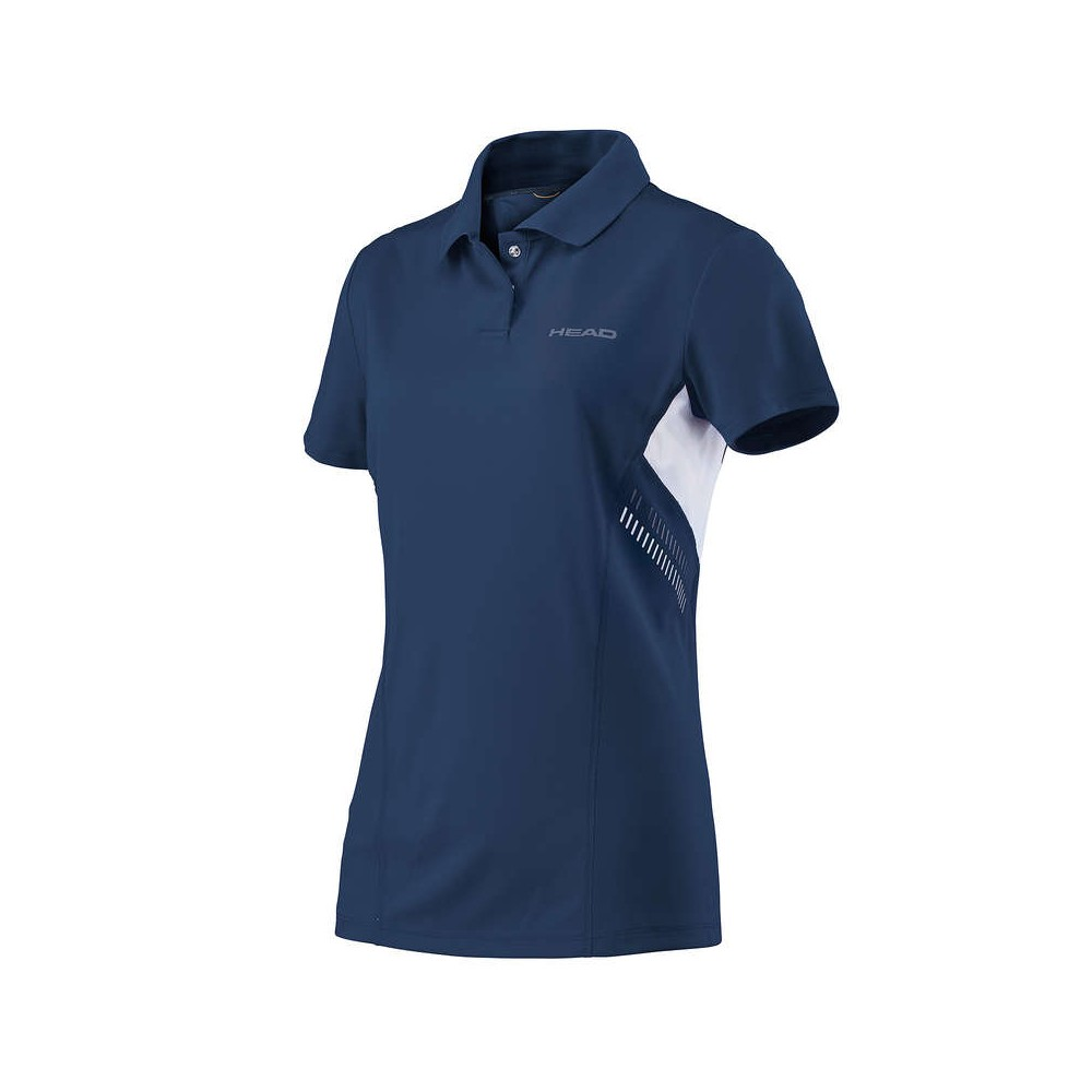 Polo Sport Fille Head Technical Bleu 2018