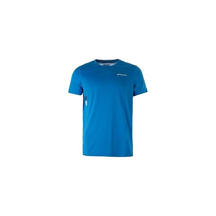 T-shirt Sport Enfant Babolat Core Flag Club Bleu 2017