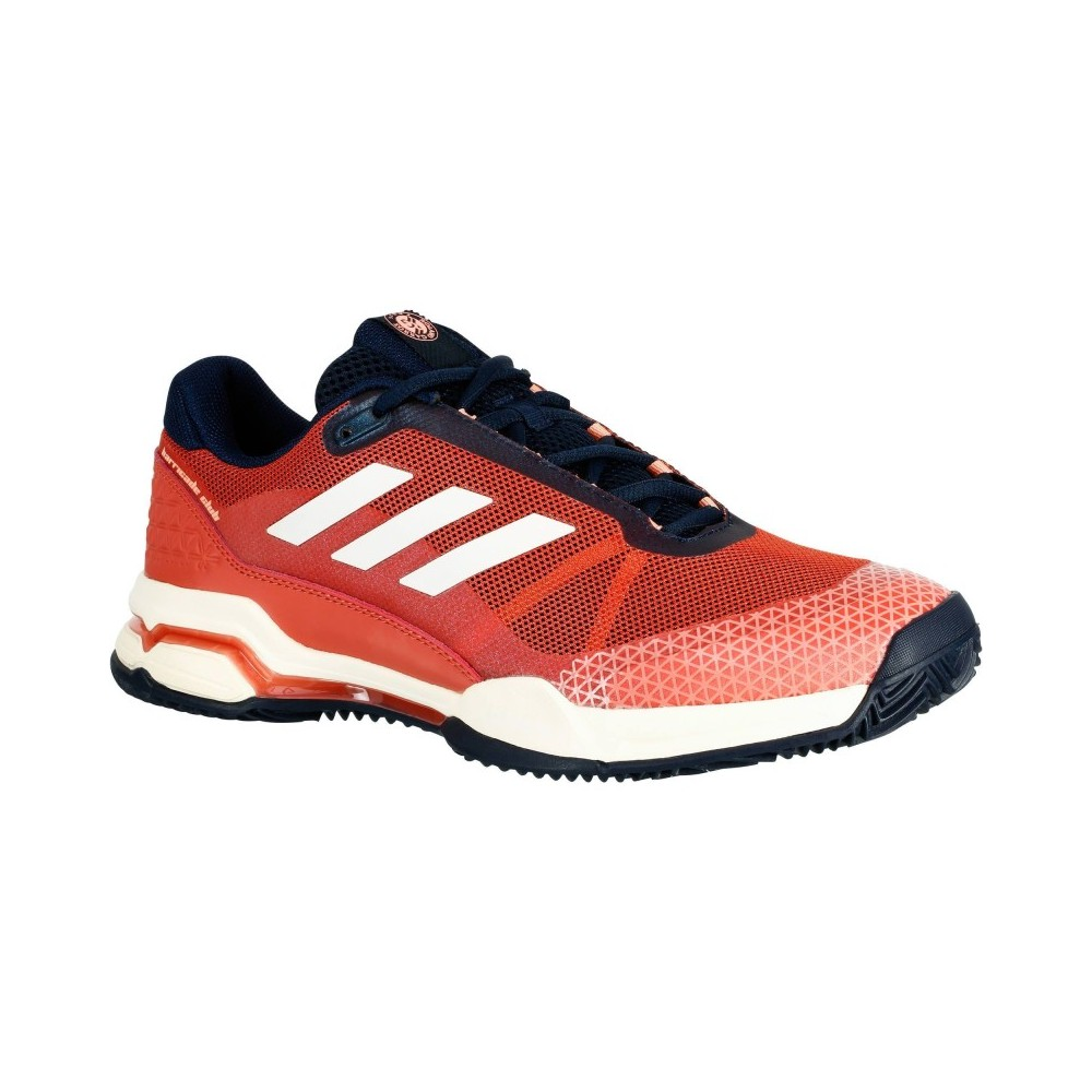 Chaussures Tennis Adidas Barricade Club Clay Roland Garros 2018
