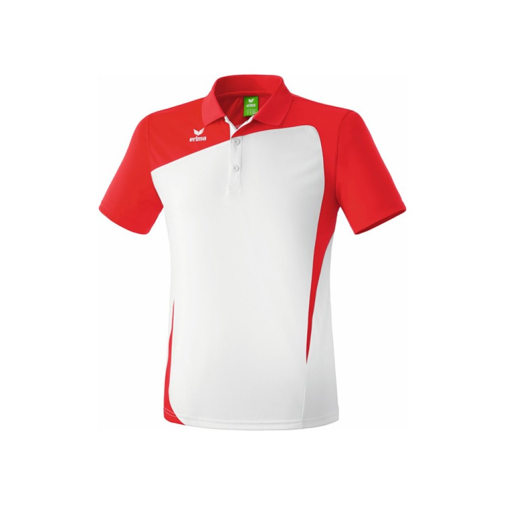 Polo Sport Erima Club 1900 Junior Blanc/Gris