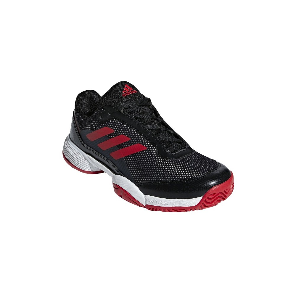 in stock hot products new design Chaussures de Tennis Adidas Barricade Club Noir Junior