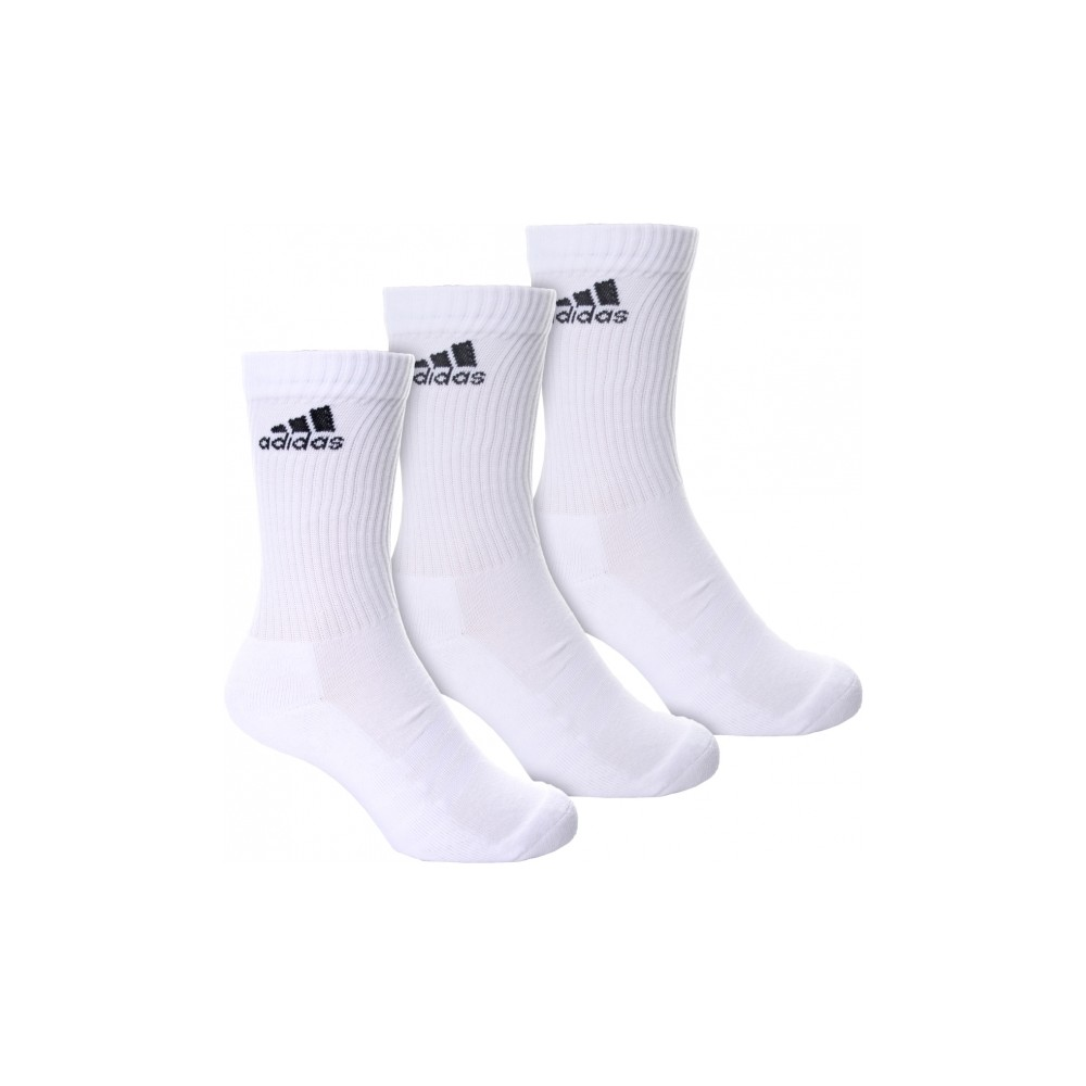 Chaussettes Adidas 3 Paires Blanc