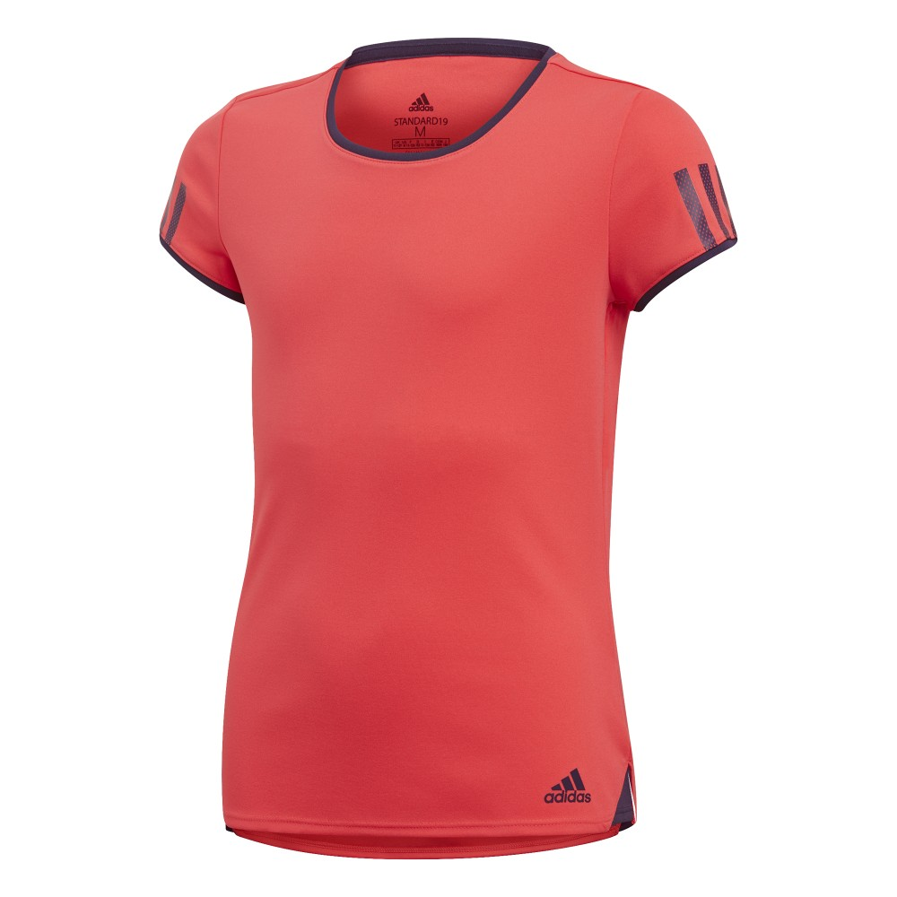 T-shirt Sport Adidas Club Femme Orange