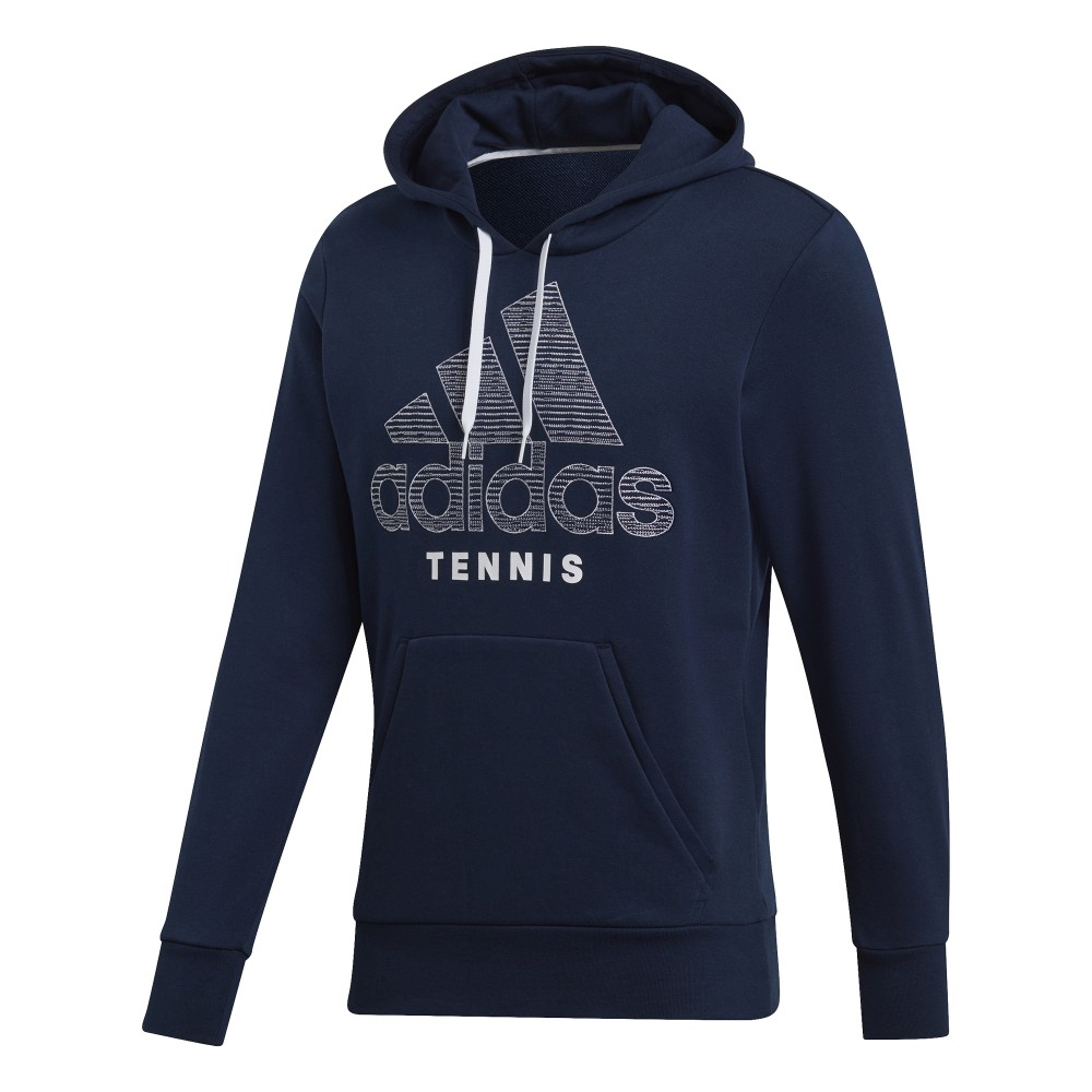 Sweat Capuche Homme Adidas Category Graphic Bleu