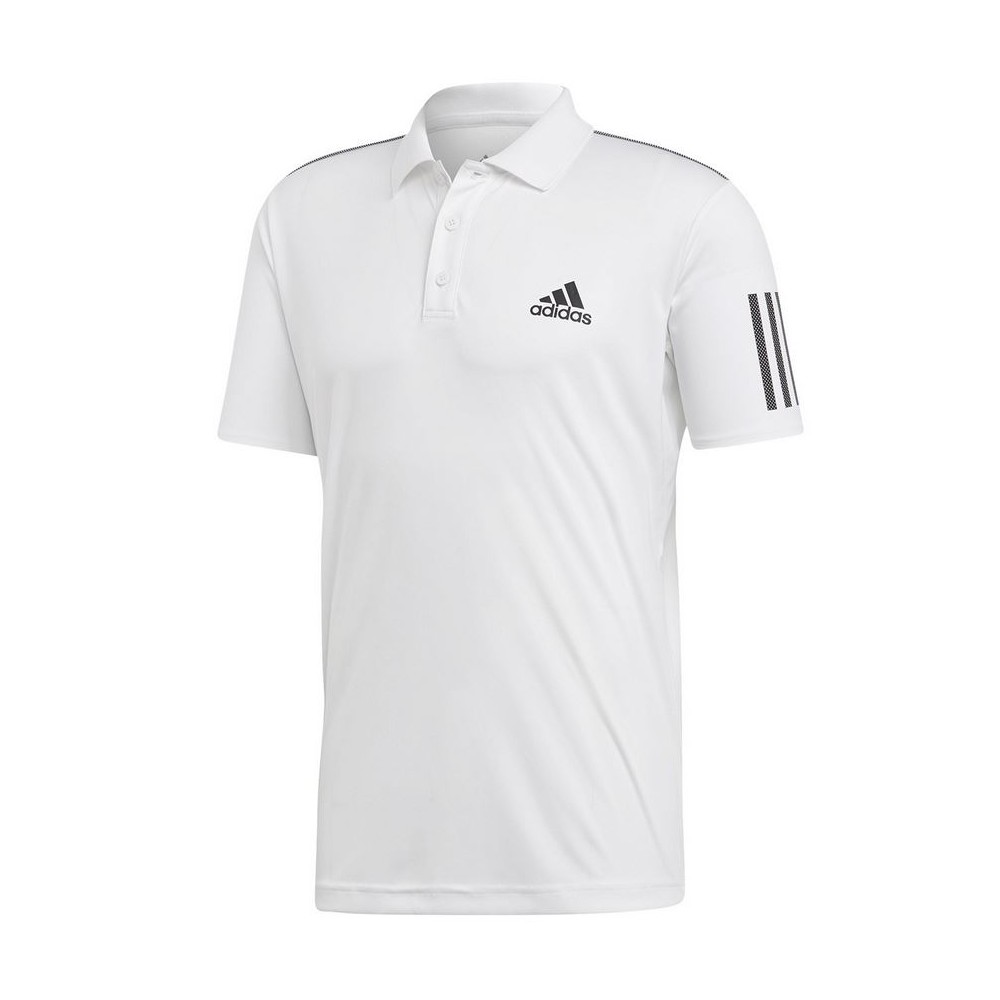 Polo Sport Homme Adidas Club 3 Stripes