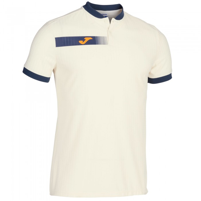 Polo Sport Homme Joma Open Blanc
