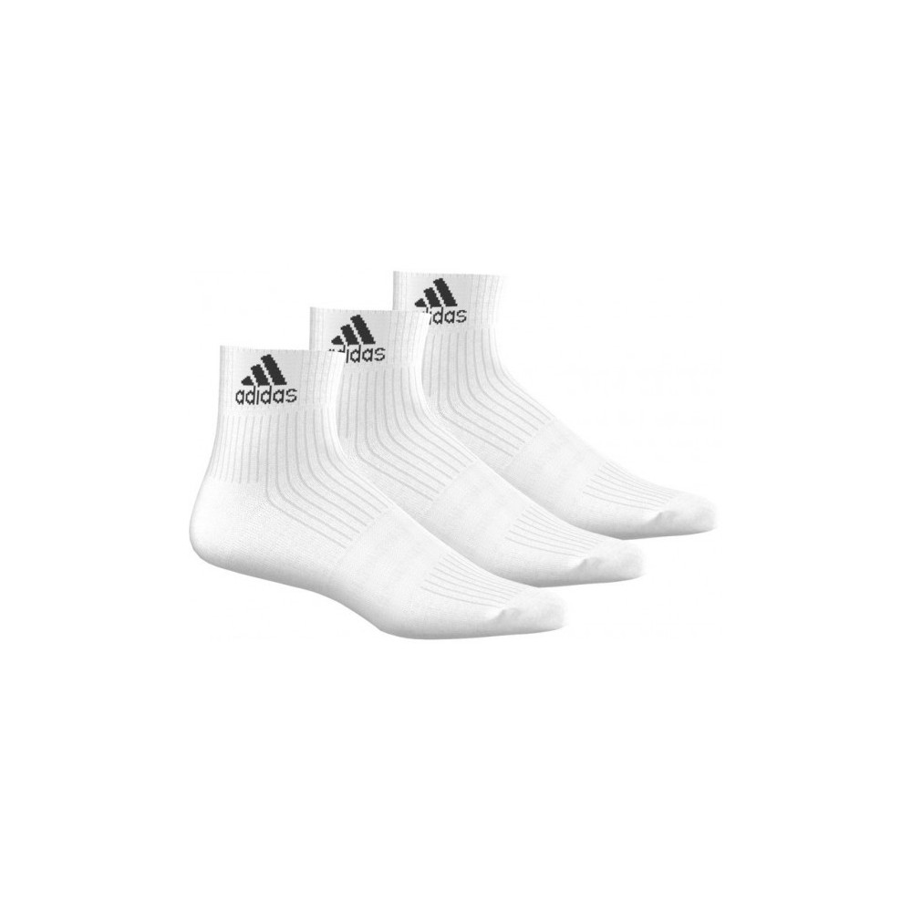 Chaussettes Adidas Blanches Semi Longues x3 Paires