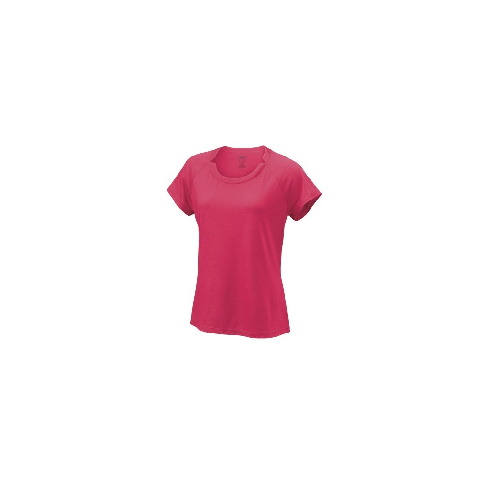 T Shirt Femme Wilson Para Condition Rose