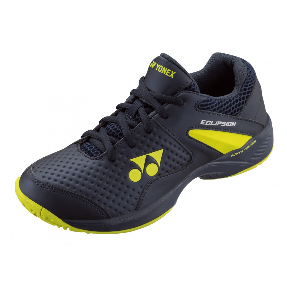 Chaussures Tennis - Yonex - Power Cushion Eclipsion 2 JR - Enfant - Bleu Jaune - 2019