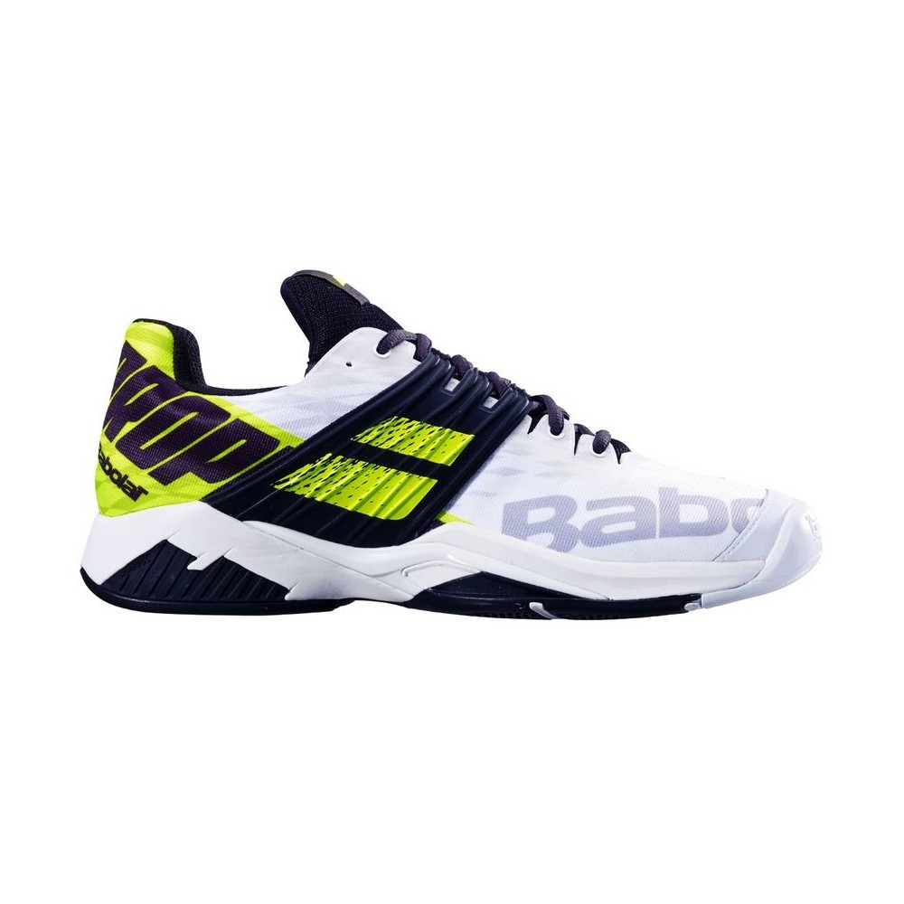 Chaussures Tennis Homme Babolat Propulse Fury Blanc Jaune