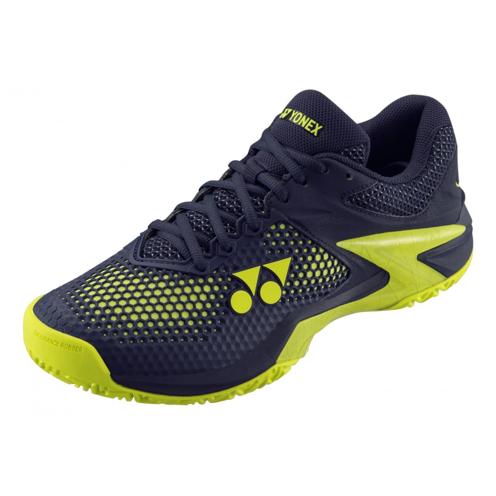 Chaussures Tennis Yonex Power Cushion Eclipsion 2 Bleu Jaune 2019