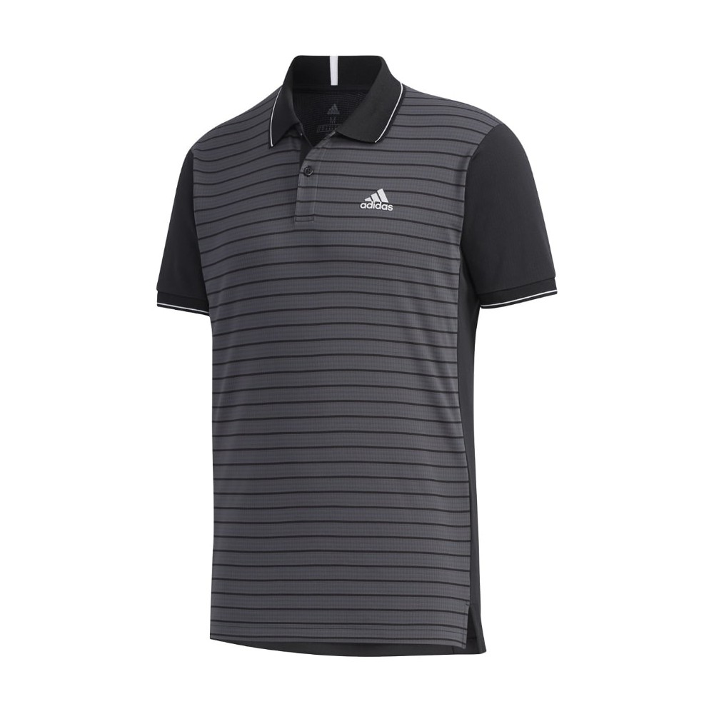 Polo Tennis Adidas Homme Club Gris