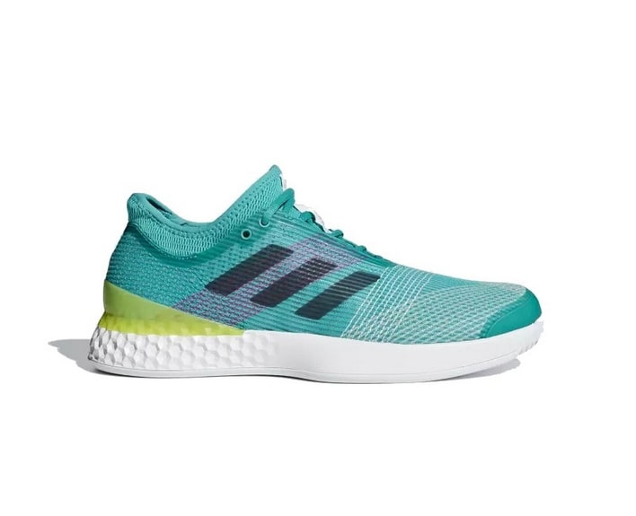 Adizero Ubersonic 3 Men Green Adidas Chaussures Tennis