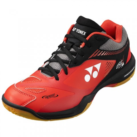 Power Cushion 65 X2 men rouge/noir Chaussures Badminton Yonex